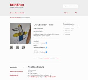 MartShop. Stand März 2015