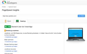 Layers Speed Test - Google