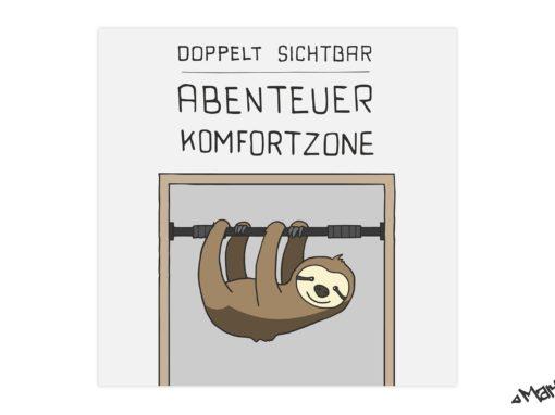 Abenteuer Komfortzone Cover Artwork